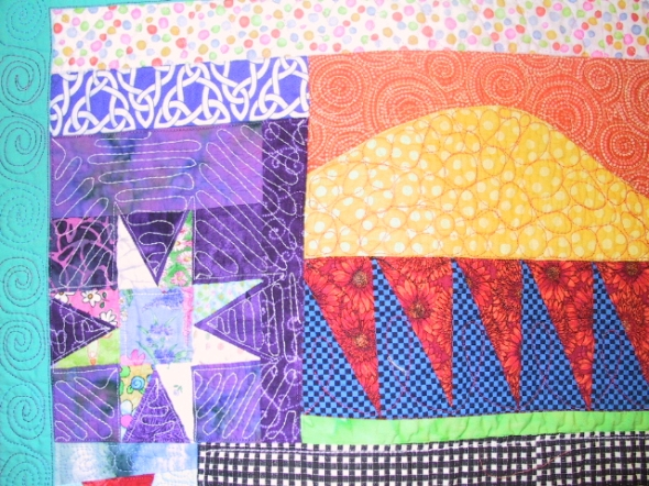 I now a long arm quilting machine really enhanced my quilting ability.