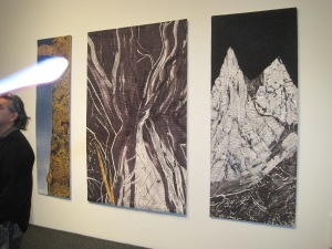 Anne Johnston's work. In 2005, I took a week of classes with Anne Johnston learning how to dye fabric. It was a pivotal moment in my life--I had been living in Valdez at the time and had no idea artists were doing such amazing things with fiber.