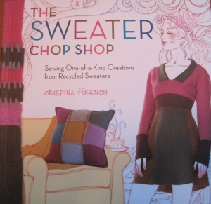 As I have said before,there really is loads of good info in this book especially if you like to felt sweaters but don't know what you want to do with them.
