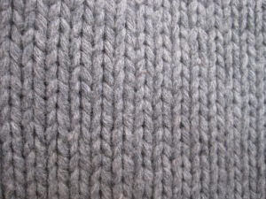 Here is a close up of the weave before felting.