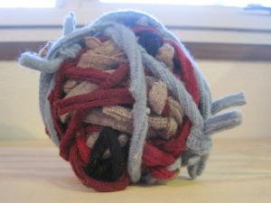 Ball of Sweater Seams