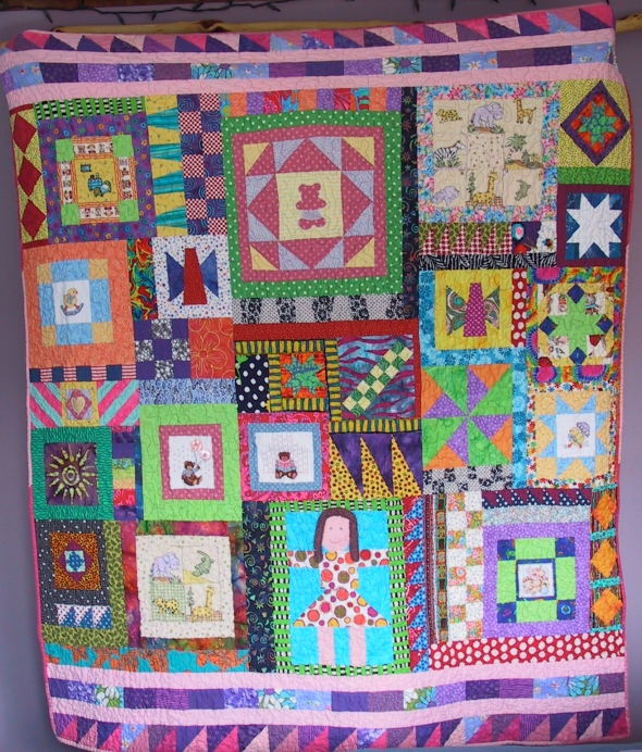 Community Baby Quilt From Valdez