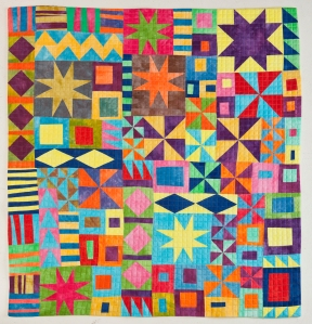KA-POW!201045H x 45WKA-POW! is a recent example of Kitchen Sink Quilting.