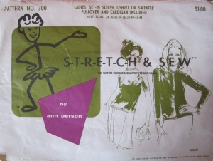 Stretch & Sew Pattern No. 300 by Ann Person