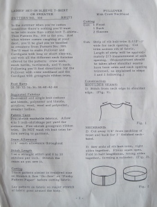 I love these instructions. They are folksy. The only place where there is additional info about where this pattern came from is on the actually pattern.It was made and distributed out of Eugene Oregon in 1967.