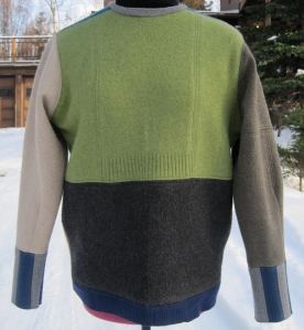 Well, I must say this isn't very mod looking. It's just a regular old jumper.
