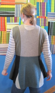Here is the same sweater from the back. I think it is so cute!