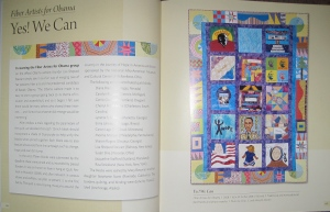 Here is our page in the book.