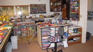 Here is my old work station.