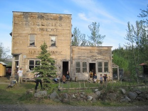 Here is the Old Hardware Store where the class was held.