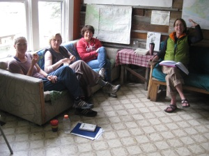 We started each day with a discussion about an assortment of things from process, to inspiration, to craft.