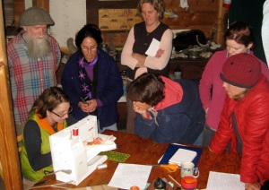 One entire day of the workshop was dedicated to the students honing their quilting skills.
