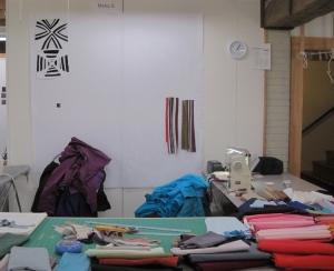 Maria Shell's Design Wall at One O'Clock