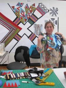 Maria Shell Stitching