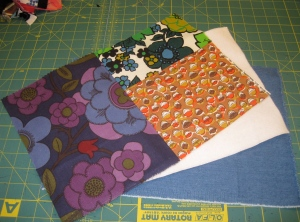 Single Oven Mitt Fabric