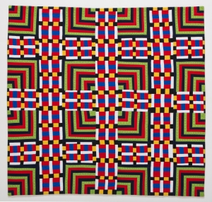 This Quilt is Technotronic by Maria Shell