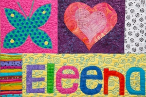 Eleena's Baby Quilt by Maria Shell
