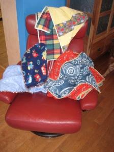 MC Shell Fleece Flannel Blanket