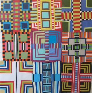 Color Grids--In Progress Maria  Shell