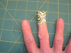 Maria Shell Duct Tape Thimble