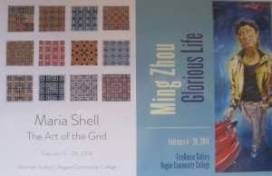 Art of The Grid Show Announcement for Maria Shell