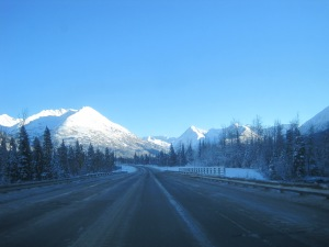 Drive to Anchorage Feb 2014