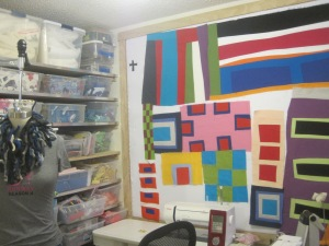 Seven Patch in Maria Shell's Studio
