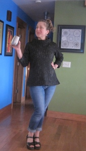 Maria Shell in CoCo top by Tillie and the Buttons