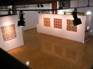 Maria Shell Art of the Grid at the Wiseman Callery 2014