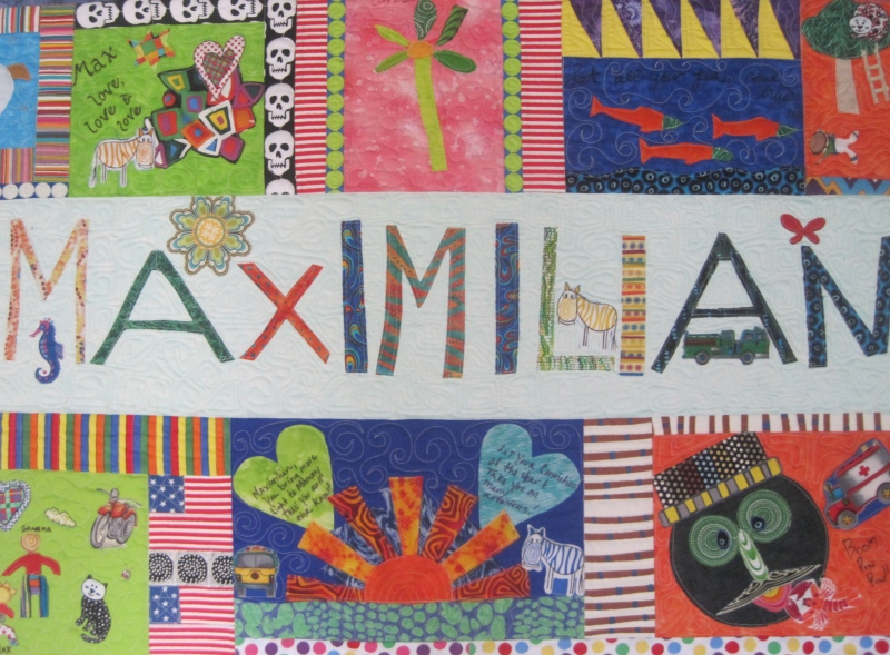 Maria Shell Max's Man Quilt