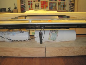 Maria Shell Completed Quilt Storage System