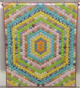 Honeycomb Hexagons Alaska Unknown Maker 1975