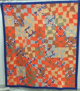 Irregular Nine-patch Unknown Maker Washington c. 1975
