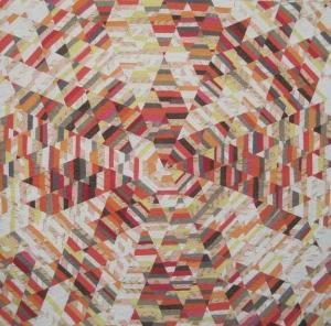 Sunburst Quilt by Tara Faughman