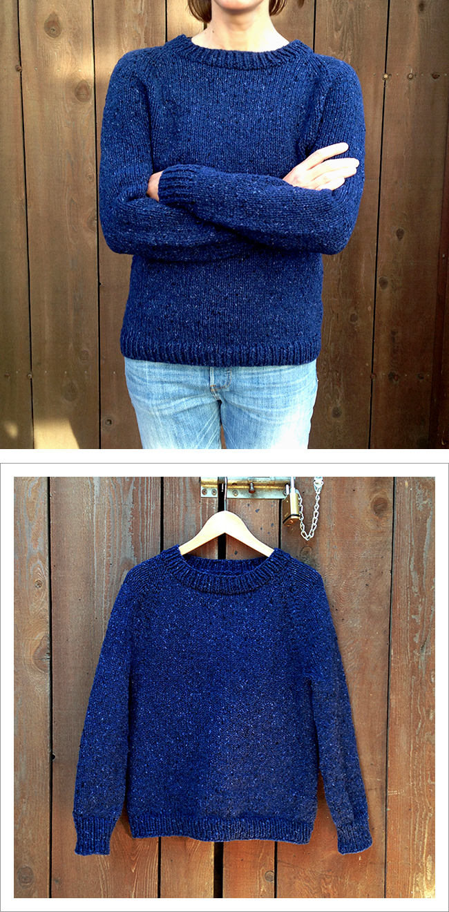 b027c748b The Perfect Beginner s Top Down Sweater