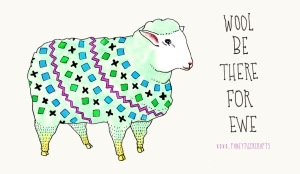 wool be there for ewe