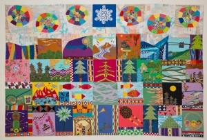 McCarthy Solstice 55H x 82W Collection of the McCarthy Kennicott Historical Museum