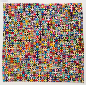 To Agnus Martin, with Color 2015 Quilt National