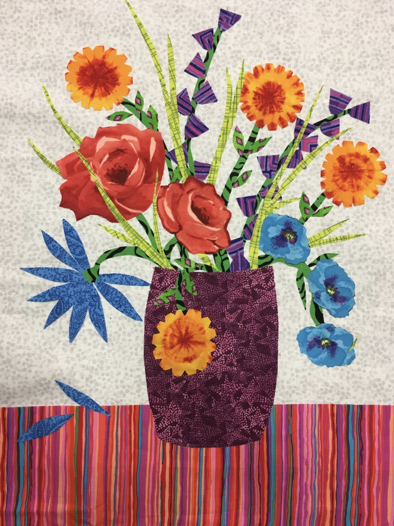 Art Appliqubeautiful Flowers Maria Shell