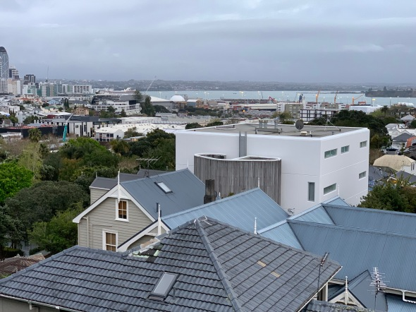 Auckland view from hotel